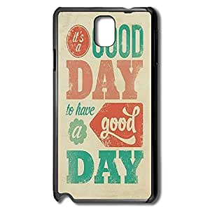 Samsung Note 3 Cases Good Day Design Hard Back Cover Shell Desgined By RRG2G