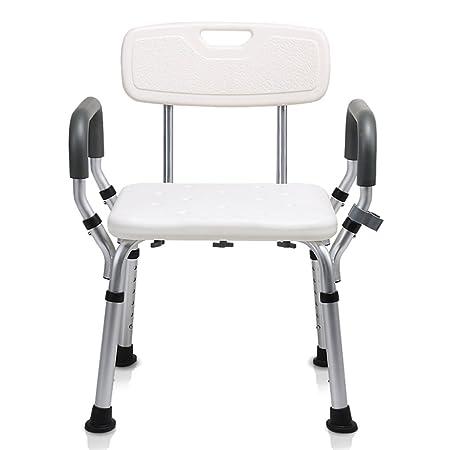 HWF Shower Chair Shower Chair Bath Chair Old People Non Slip Pregnant Women  Lightweight Bathroom