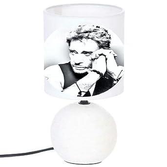 Hallyday De Artisanale Lampe Type Chevet Création Johnny NOm8nwv0