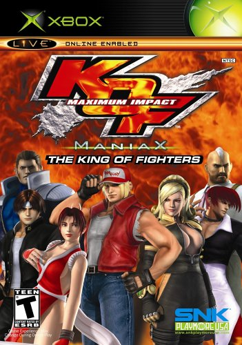 King of Fighters: Maximium Impact Maniax - Xbox