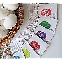 Pysanky dye Ukrainian Easter egg dyes coloring supplies set of 6