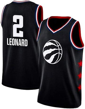 45c935ee runvian Camiseta de Baloncesto para Hombre, NBA Toronto Raptors #2 Kawhi  Leonard Swingman Edition