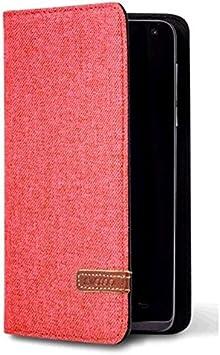 Wasabi A01FU0066 - Funda universal para smartphone, color rojo ...
