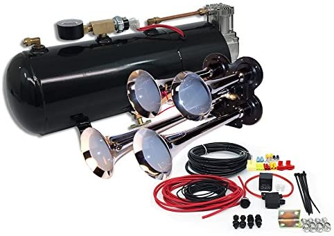 MPC Four Trumpet Train Air Horn Kit