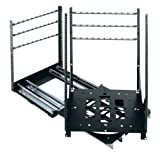 SRSR Series 19'' D Rotating Sliding Rail System (300 Lb. Capacity) Rack Spaces: 20U Spaces