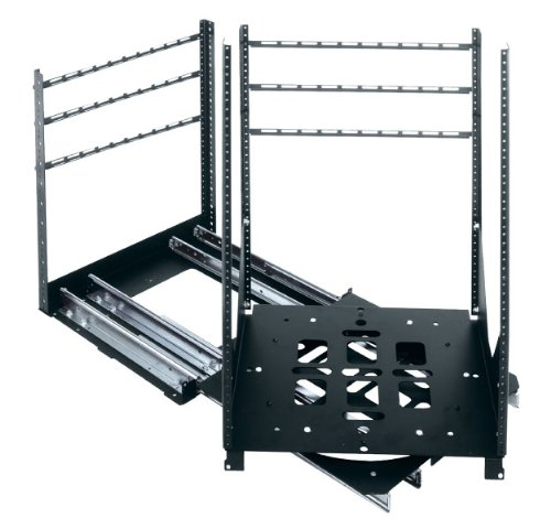 SRSR Series 19'' D Rotating Sliding Rail System (300 Lb. Capacity) Rack Spaces: 20U Spaces by Middle Atlantic