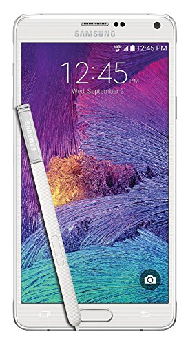 Samsung Galaxy Note 4 N910v 32GB Verizon Wireless CDMA Smartphone - Frosted White (Renewed)