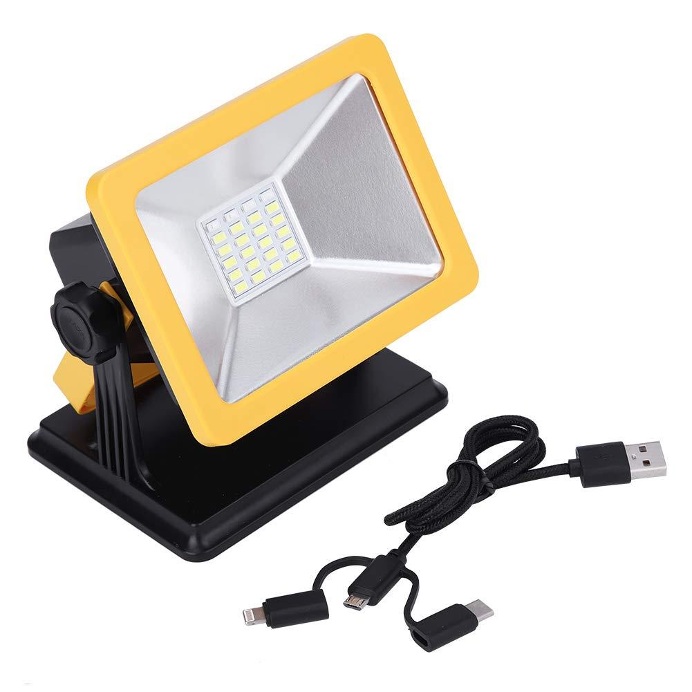 Delaman Emergency Light 15W USB LED Flood Camping Light