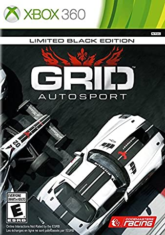 GRID Autosport - Xbox 360 Black Edition Edition (Routes And Realms)