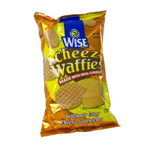Wise Cheese Waffies, 5oz Bag - 8 Unit Pack