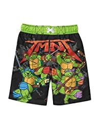 Nickelodeon Teenage Mutant Ninja Turtles Swim Trunks Swim Shorts Little Boys'