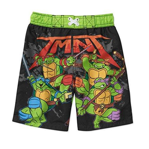 Teenage Mutant Ninja Turtles Swim Trunks Swim Shorts Little Boys' 2T, Size -