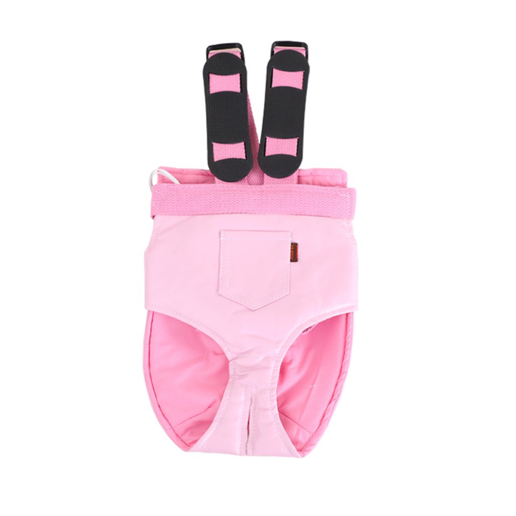 L Pink Pet Backpack Carrier Legs Out Front-Facing Adjustable Pet Backpack Portable for Walking Hiking Bike and Motorcycle (Size   L)