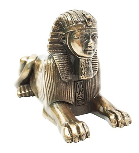 Ebros Egyptian God Androsphinx Statue Gods Of Egypt Monument Pyramid Guardian Sphinx Small Figurine Egypt Wonder