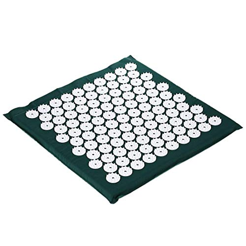 AOXIANG Lotus Spike Acupressure Mat Acupuncture Massage Cushion Fitness Yoga Mat Relief Body Pain Pad