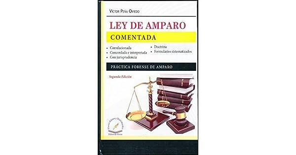 Amazon.com: LEY DE AMPARO COMENTADA (9786076105009): VICTOR ...