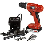 Amazon Deal of the Day: BLACK + DECKER 20-Volt Max Lithium-Ion Drill/Driver with 30 Accessories