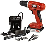 Black & Decker LD120VA 20-Volt MAX Lithium-Ion Drill/Driver with 30 Accessories