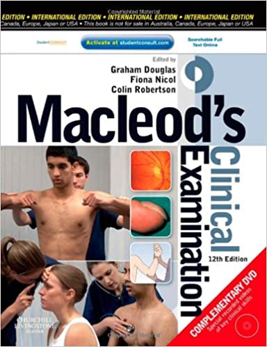 Buy macleods clinical examination with student consult online buy macleods clinical examination with student consult online access 12e book online at low prices in india macleods clinical examination with fandeluxe Gallery