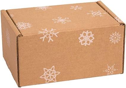 Kartox   Caja con estampado de navidad   Caja para almacenamiento ...