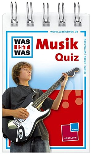 Was ist was Quizblock: Musik: 120 Fragen und Antworten! Mit Spielanleitung und Punktewertung