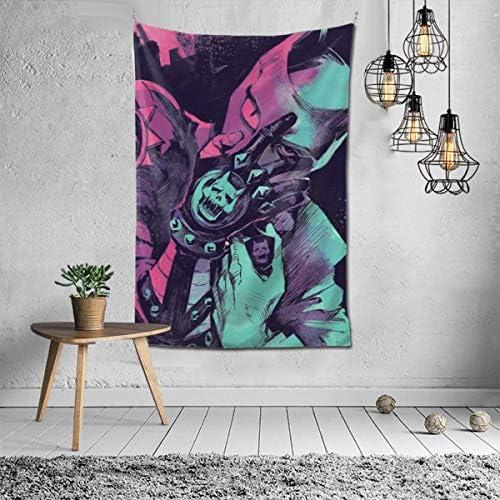 Touhou Anime JoJo s Bizarre Adventure Yoshikage Kira Killer Queen Wall Art Hanging Decor Tapestry 60×40 Inch