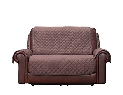 Beau Home Queen Premium Water Resistant Couch Slipcover For Leather Sofa,  Non Slip Sofa Protector