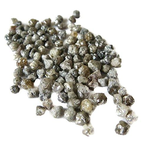 Rough Diamond, Wholesale Raw Diamonds, Natural Uncut Diamonds, 2mm To 3mm Approx, 20 Pieces