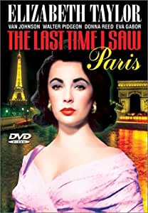 The last time I saw Paris Liz Taylor movie poster print