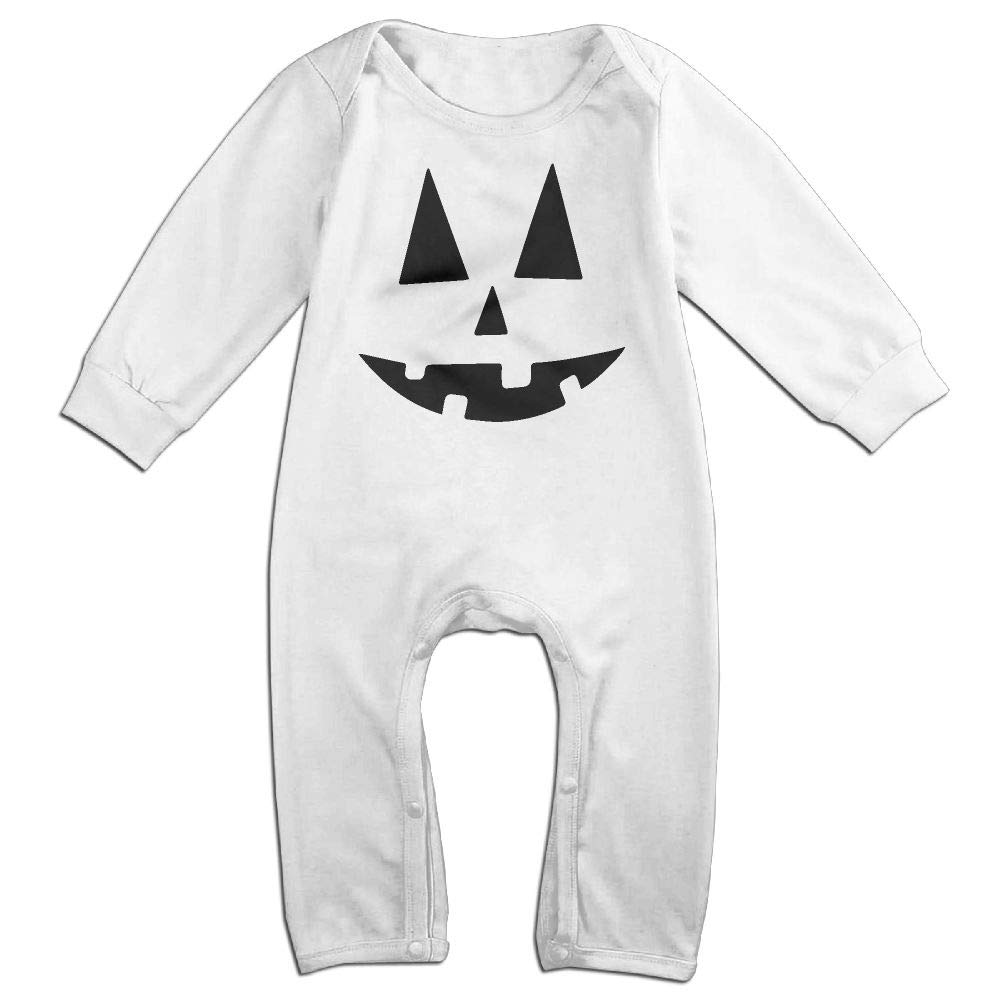 Toddler Baby Boy Girl Coverall Pumpkin Halloween Baby Rompers