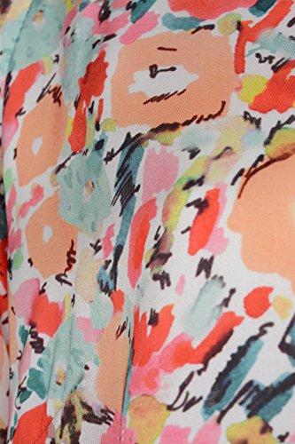 rick cardona by heine Abito stampa donna multicolore