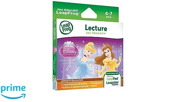LeapFrog 89012 importado de Francia Juego Princesas de Disney para Leapster Explorer