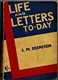 Life & Letters Today vol 21 no 22 | ' Montage in 1938' by S M Eisenstein