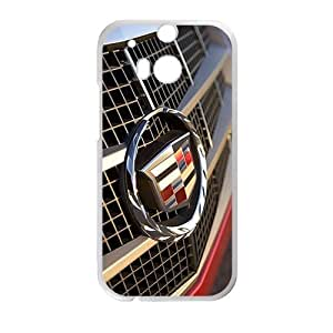 DAZHAHUI Cadillac sign fashion cell phone case for HTC One M8 BY RANDLE FRICK by heywan