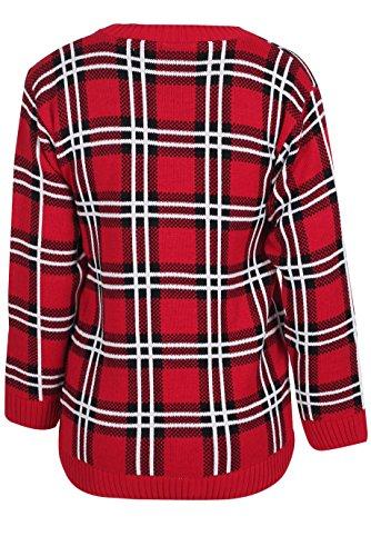 Momo Fashions - Jerséi - para mujer Rojo