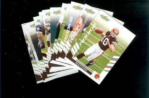 Cleveland Browns Football Cards - 3 Years of Score Complete Team Sets 2006,2007, 2008 - Includes Stars, Rookies & More - Individually Packaged!