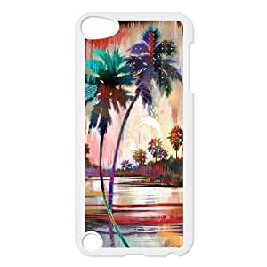 DIY Case Cover for iPod touch5 w/ Palm Trees image at Hmh-xase (style 9)