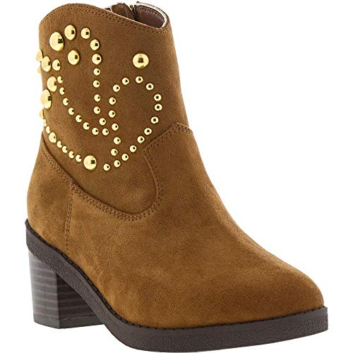 Michael Kors Fawn Desert (Youth), Caramel, Size 4 M Us Big Kid (Michael Kors Boots For Big Kids)