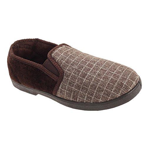 Pantofola Slip-on Da Uomo Modello Slumberzzz Classico Blu Navy
