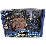 Marvel Legends Boxed Sets Fantastic Four 4-Piece Exclusive Action Figure Boxed Set