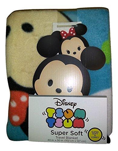 Tsum Tsum Disney Throw Blanket Kids Plush Soft Toy Toddlers 40