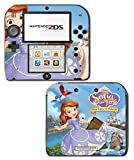 Sofia the First Once Upon a Princess Clover Video Game Vinyl Decal Skin Sticker Cover for Nintendo 2DS System Console