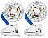Kelgar Baby Stroller Pinwheel Fan, 2 Count