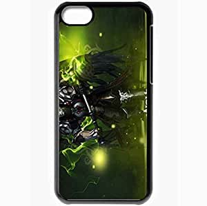 Personalized iPhone 5C Cell phone Case/Cover Skin Aion The Tower Of Eternity Magic Hands Cloak Balls Black