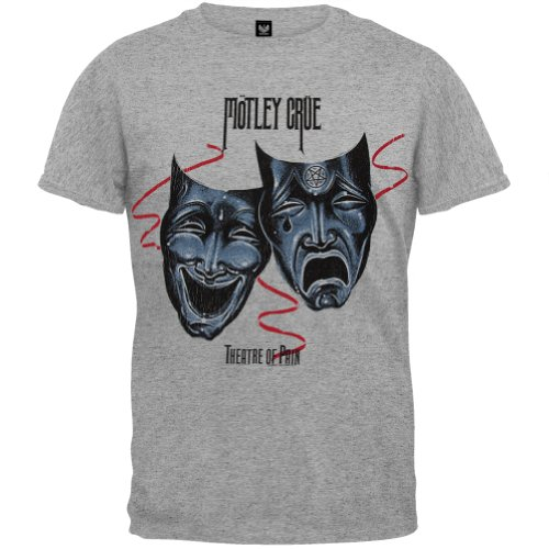 Motley Crue - Mens Use It Or Lose It T-shirt Small Grey