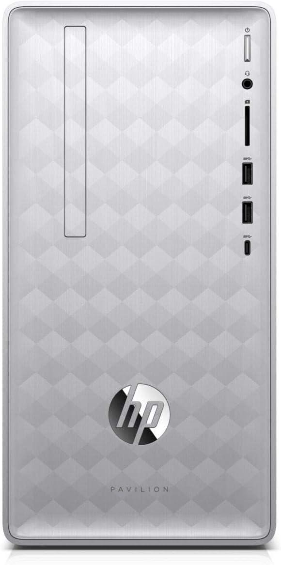 HP Pavilion Pavilion 590-p0016 Intel Core i3-8100 X4 3.6GHz 8GB 1TB,Silver(Renewed)