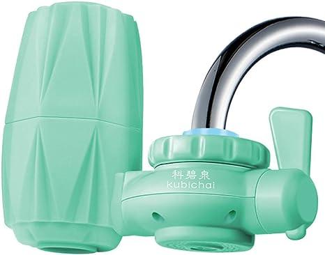 WAN Montaje del Grifo Filtro, Gaucets purificador de Agua del hogar Tap carbón Activado Lavable Filtro de cerámica ...