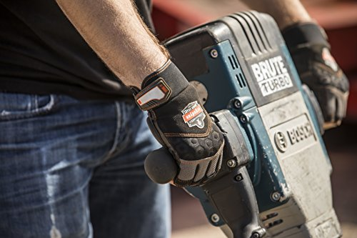 Ergodyne ProFlex 900 Impact Protection Work Gloves, Padded Palm, Half-Finger, X-Large by Ergodyne (Image #3)
