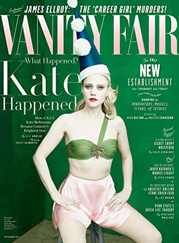 Vanity Fair Magazine (November, 2017) Saturday Night Live Kate McKinnon Cover