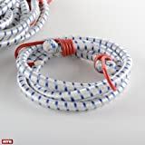 Heavy Duty Elastic Tie Downs 96'' Bungee Cord Movings Straps (Bag Of 6)